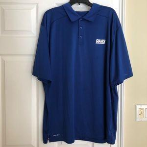 Nike Dri-Fit New York Giants Polo Shirt 👕